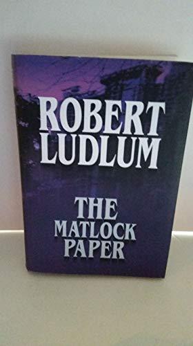 9781585470594: The Matlock Paper