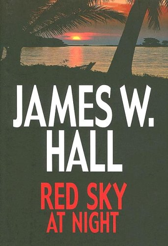 Red Sky at Night (Center Point Premier Fiction (Large Print)): James W. Hall