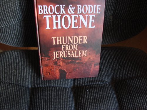 9781585471331: Thunder in Jerusalem