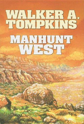 9781585474240: Manhunt West (Center Point Western Complete (Large Print))