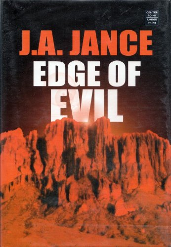 9781585477470: Edge of Evil: (Center Point Platinum Mystery (Large Print))