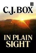 9781585478408: In Plain Sight (Center Point Platinum Mystery (Large Print))