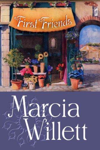 9781585478460: First Friends (Center Point Platinum Fiction (Large Print))