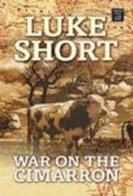 9781585478828: War on the Cimarron (Center Point Premier Western (Large Print))