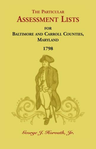 The Particular Assessment Lists For Baltimore And: George J. Horvath,