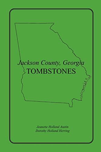 9781585497102: Jackson County, Georgia Tombstones