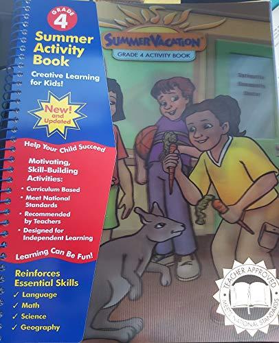 9781585539727: Summer Vacation, Grade 4 Activity Book