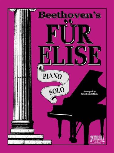 Fur Elise - Piano Solo Original: Robbins, Jonathon