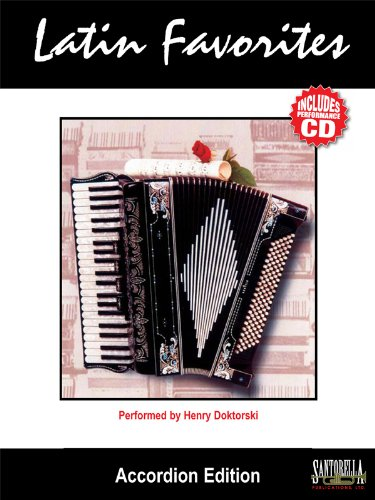 9781585600991: Latin Favorites, Accordion Edition (Book & CD) (English and Spanish Edition)