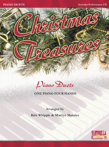 9781585602681: Christmas Treasures * Piano Duets with CD