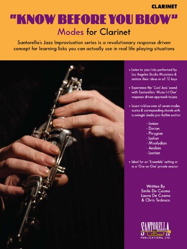 9781585607006: KNOW BEFORE YOU BLOW - Modes for Clarinet