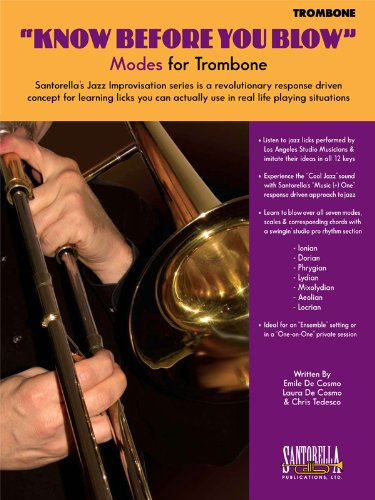 9781585607044: KNOW BEFORE YOU BLOW - Modes for Trombone