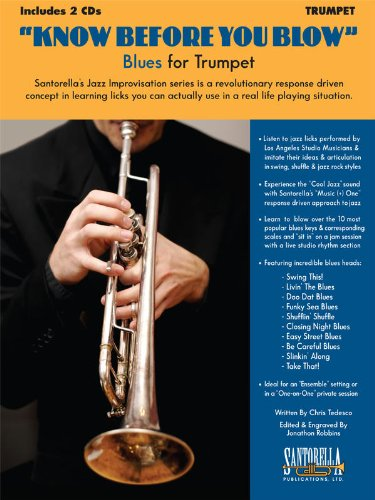 9781585607112: Know Before You Blow - Blues for Trumpet