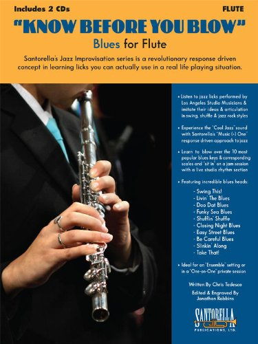 9781585607129: Know Before You Blow Blues for Flute
