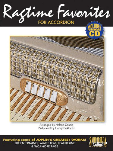 9781585607495: Ragtime Favorites for Accordion with Performance CD