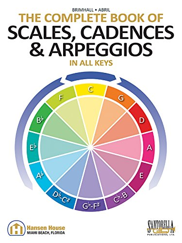 9781585607563: The Complete Book of Scales, Cadences & Arpeggios