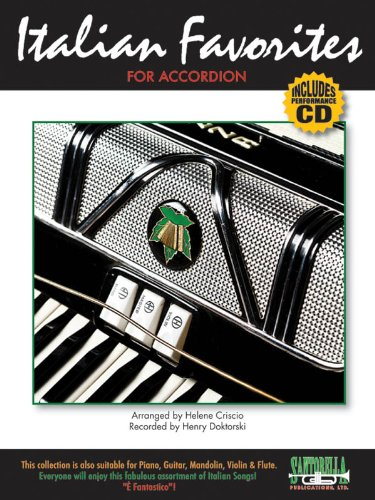 9781585609734: Italian Favorites For Accordion with CD