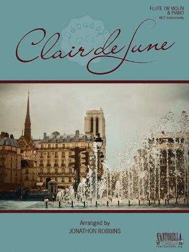 Debussy's Clair de Lune for Flute or: Jonathon Robbins
