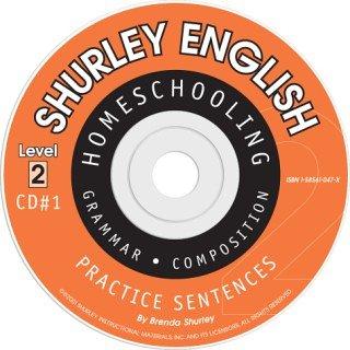 9781585610471: Shurley Grammar Level 2 Practice CD's