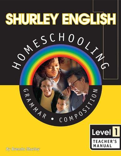 Shurley English Homeschooling Grammar Composition Level 1: Shurley, Brenda