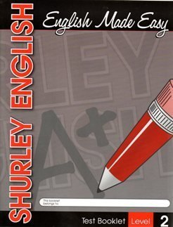 2007 Shurley Method English Level 2 Test Booklet: Various