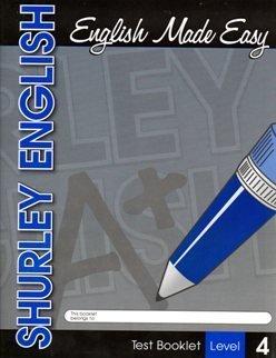 9781585610914: 2007 Shurley Method English Test Booklet Level 4