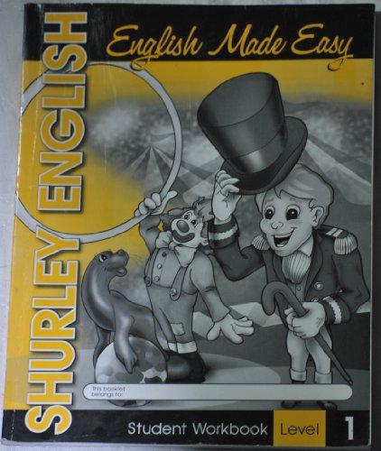9781585611058: English Made Easy, Student workbook Lvl. 1 (Shurley English)