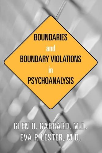 9781585620982: Boundaries and Boundary Violations in Psychoanalysis