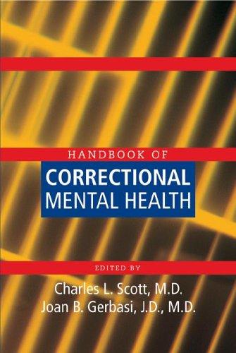 9781585621569: Handbook Of Correctional Mental Health