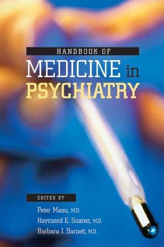 9781585621828: Handbook of Medicine in Psychiatry