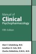 9781585622092: Manual of Clinical Psychopharmacology
