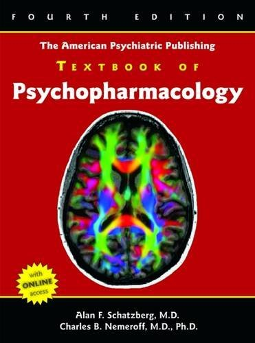 9781585623099: The American Psychiatric Publishing Textbook of Psychopharmacology (Schatzberg, American Psychiatric Publishing Textbook of Psychopharmacology)