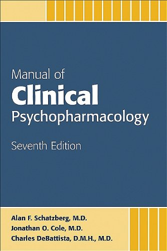 9781585623778: Manual of Clinical Psychopharmacology