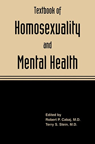 9781585624485: Textbook of Homosexuality and Mental Health