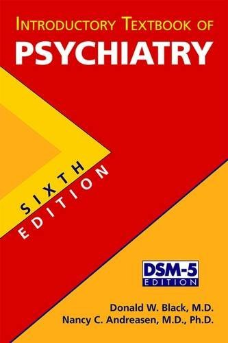 Introductory Textbook of Psychiatry: Donald W. Black;