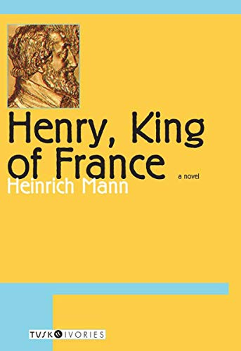 9781585674886: Henry, King of France: A Novel