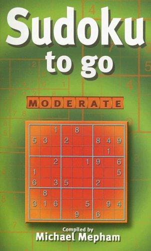9781585677924: Sudoku To Go: Moderate