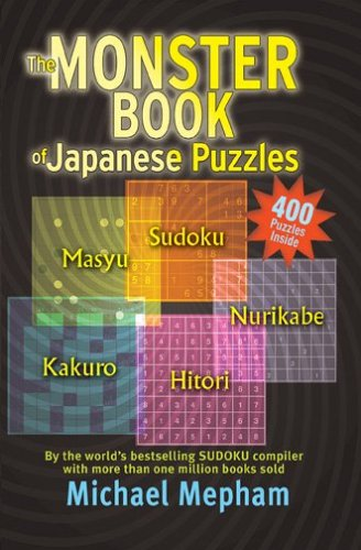 9781585678327: The Monster Book of Japanese Puzzles
