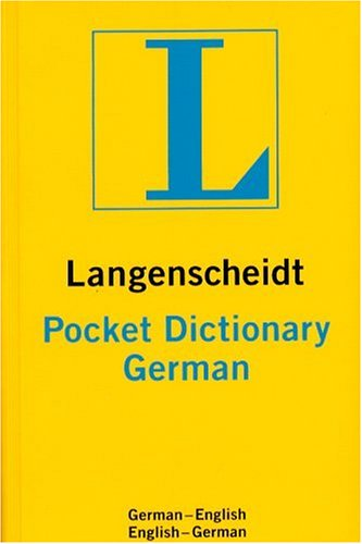 Langenscheidt's Pocket Dictionary German: German-English/English-German (Langenscheidt's Pocket: Langenscheidt