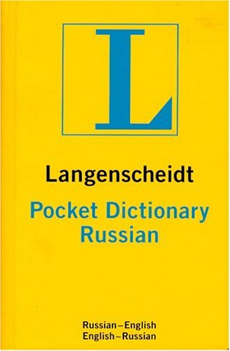 Langenscheidt's Pocket Russian Dictionary: Russian-English/English-Russian (Langenscheidt's Pocket: Langenscheidt