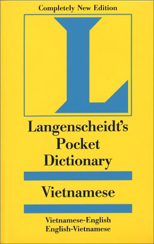 Langenscheidt's Pocket Dictionary Vietnamese/ English, English, Vietnamese (1585730599) by Langenscheidt