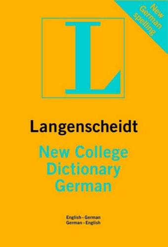 9781585735181: German Langenscheidt New College Dictionary (Langenscheidt Dictionaries)