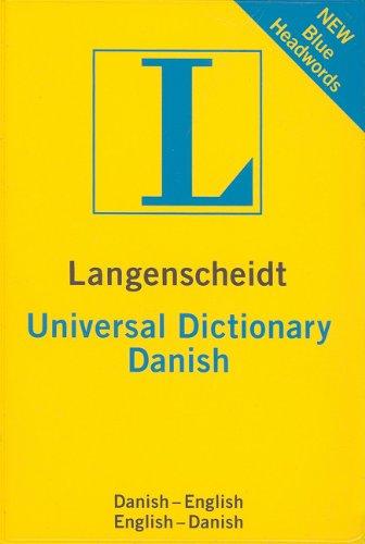 9781585735808: Langenscheidt Universal Dictionary: Danish (Danish-English, English-Danish) (English and Danish Edition)