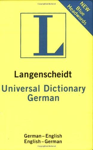 9781585735921: Universal German Dictionary: German-English, English-German (Langenscheidt Universal Dictionary) (German Edition)