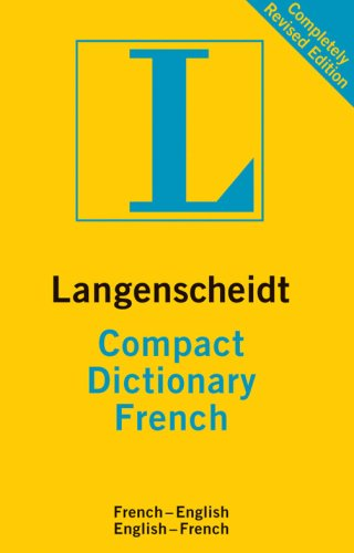 FRENCH COMPACT DICTIONARY (French Edition) (1585736066) by LANGENSCHEIDT