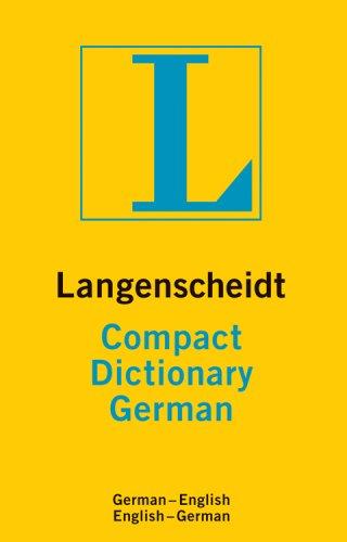 GERMAN COMPACT DICTIONARY (Langenscheidt Compact) (English and German Edition) (9781585736072) by LANGENSCHEIDT