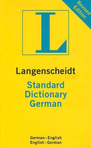 9781585736119: Langenscheidt Standard Dictionary German: German-English/English-German (Langenscheidt Standard Dictionaries) (German Edition)