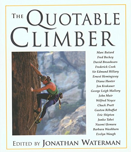9781585745425: The Quotable Climber