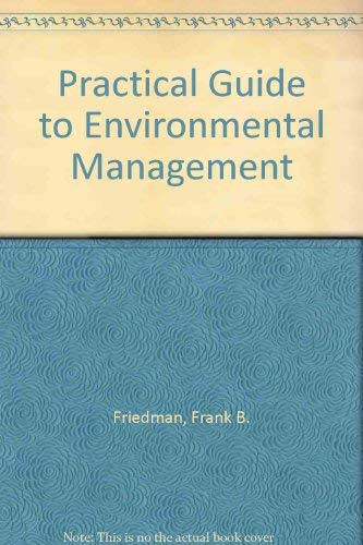 9781585760077: Practical Guide to Environmental Management