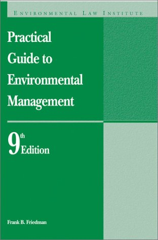 9781585760473: Practical Guide to Environmental Management (9th ed)
